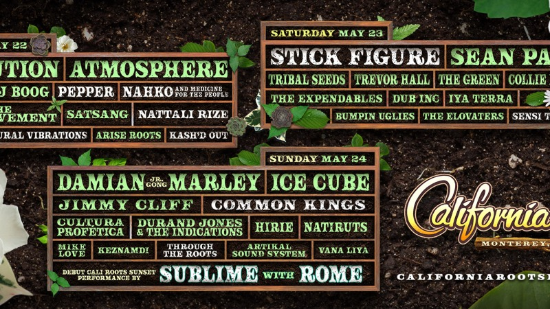 CALIFORNIA ROOTS MUSIC AND ARTS FESTIVAL CONTINUES TO BRIDGE HIP HOP AND REGGAE ON 2020LINEUP